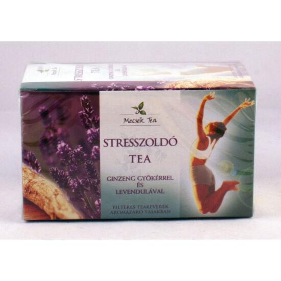 Mecsek stresszoldó tea ginzeng+levendula