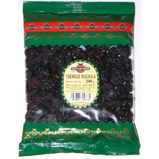 Natur-food csemege mazsola fekete