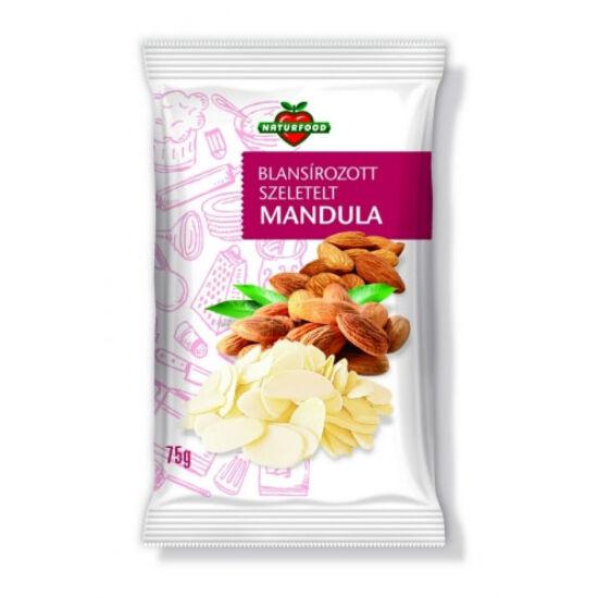 Natur-Food mandula szeletelt