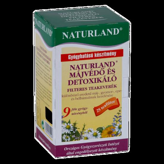 Naturland májvédő tea