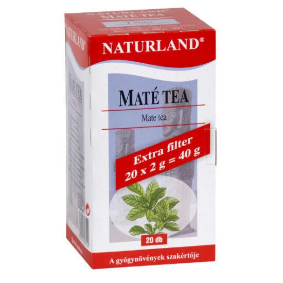 Naturland maté tea filteres