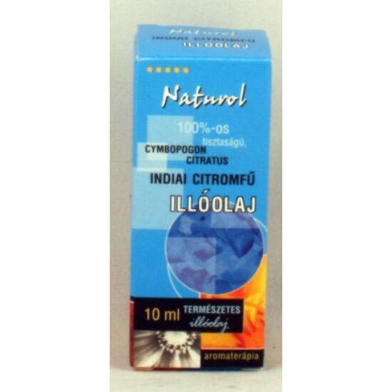 Naturol indiai citromfü olaj 10 ml