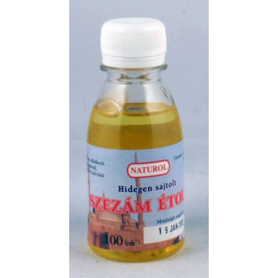 Naturol szezám olaj 100 ml