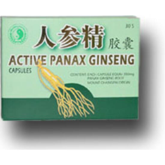 Dr.Chen Panax Ginseng aktív kapszula