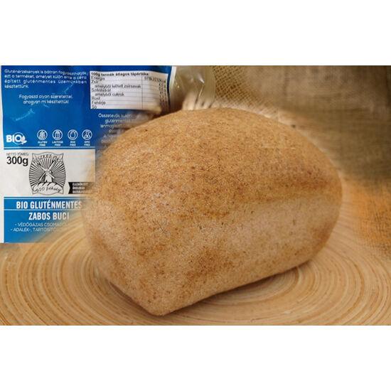 Piszkei bio gluténmentes zabos buci 300 g védőgázas csomagolásban