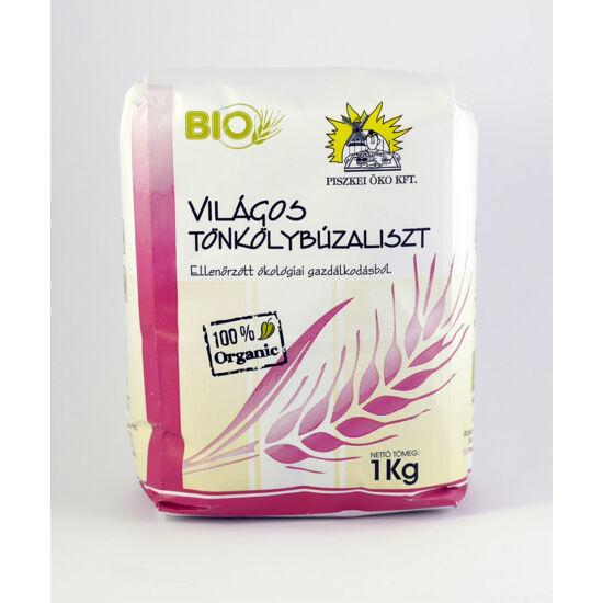 Piszkei bio világos tönkölybúzaliszt 1000 g