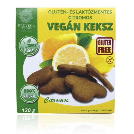Provega gluténmentes vegán keksz - Citromos