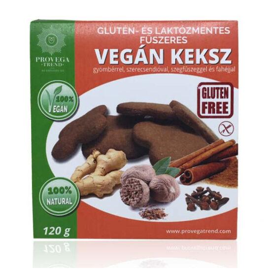 Provega gluténmentes vegán keksz - Füszeres