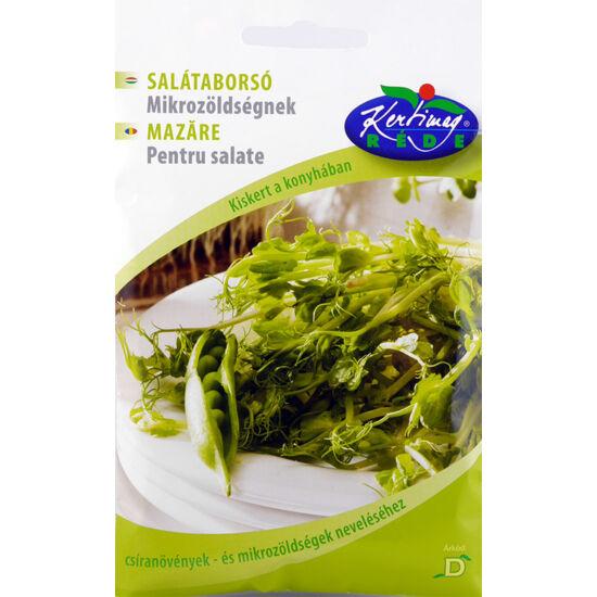 Réde salátaborsó mikrozöldségnek