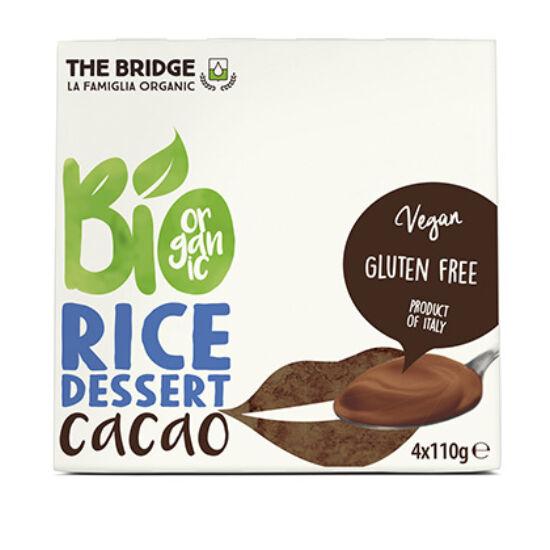 Rizspuding kakaós 4*110g - Bridge