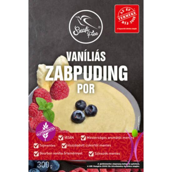 Szafi free vaníliás zabpuding por 300 g