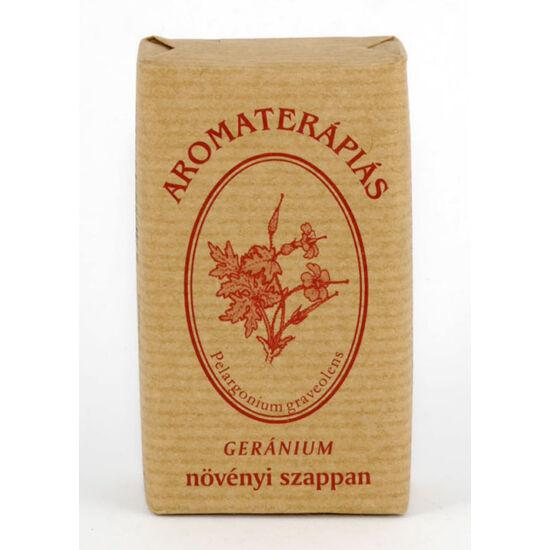 Tulasi aromaterápiás szappan geránium olajos