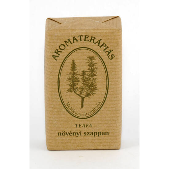 Tulasi aromaterápiás szappan teafa olajos