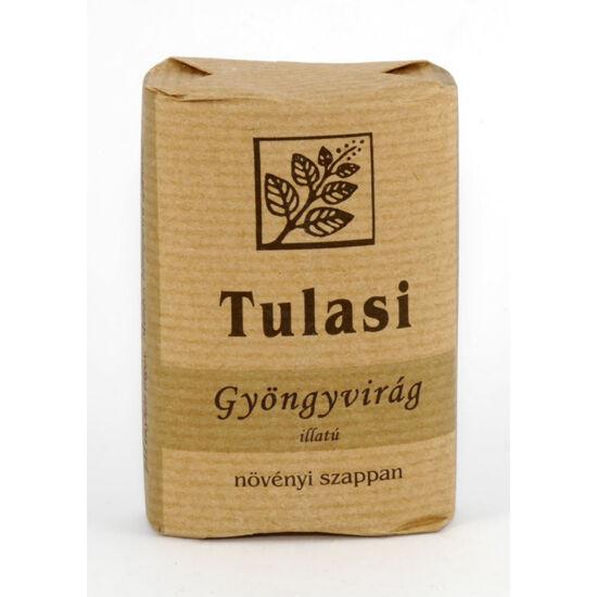 Tulasi ovális szappan gyöngyvirág illatú