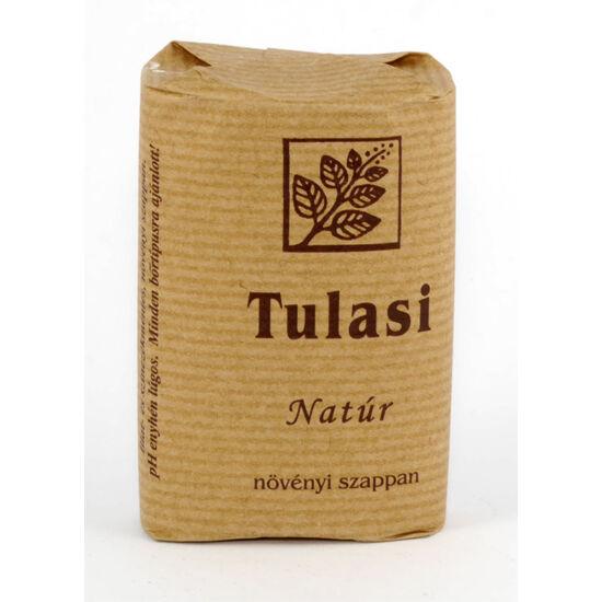 Tulasi ovális szappan natúr (illatmentes)