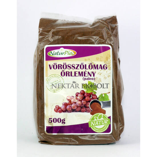 Vörösszőlőmag őrlemény (paleo) 500 g - Naturpiac