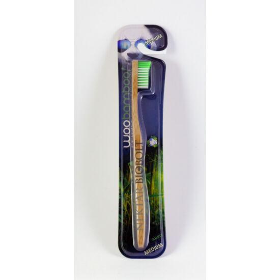 Woobamboo bambusz fogkefe felnőtt medium