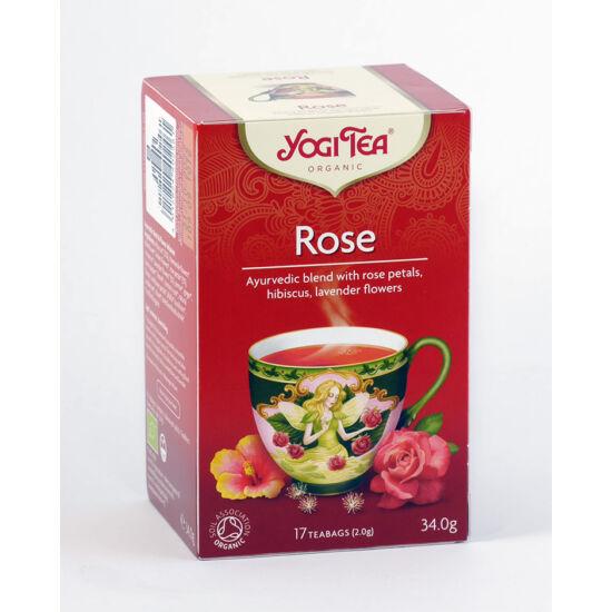 Yogi bio rózsa tea 17 db