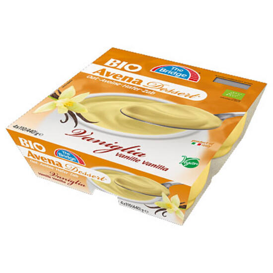Zabpuding vaníliás 4*110g